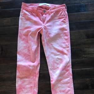 Abercrombie & Fitch cropped skinny jeans. Sz 4/27
